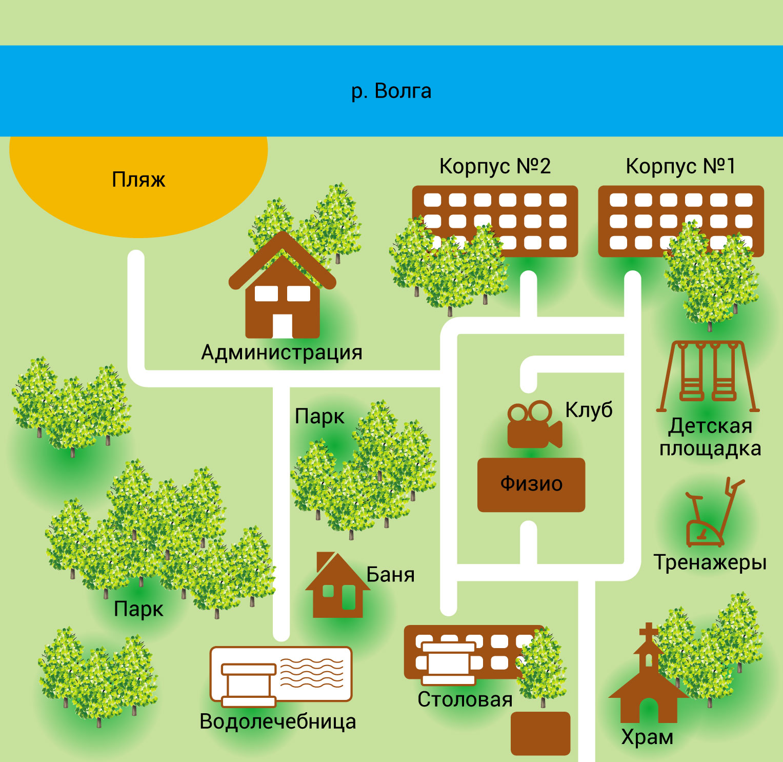Схема территории